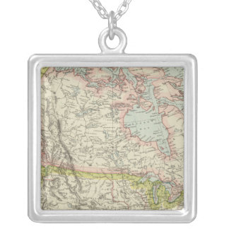 North America 34 Silver Plated Necklace