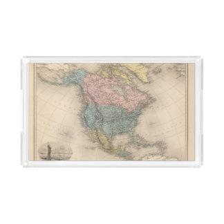 North America 35 2 Acrylic Tray