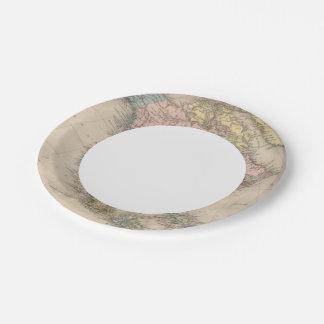 North America 35 2 Paper Plate