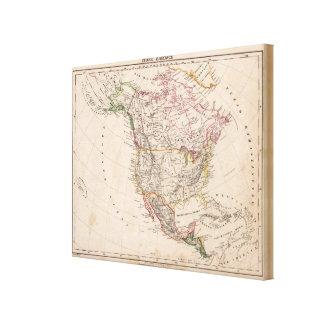 North America 35 Canvas Print