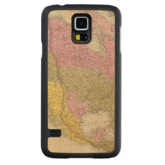 North America 35 Carved Maple Galaxy S5 Case
