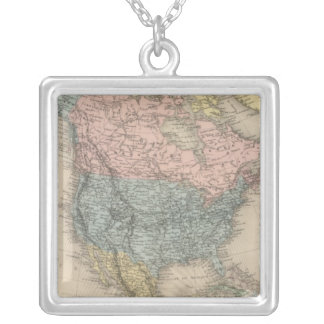 North America 35 Silver Plated Necklace