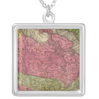 North America 36 Silver Plated Necklace