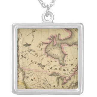 North America 37 Silver Plated Necklace