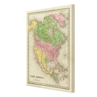 North America 37 Stretched Canvas Prints