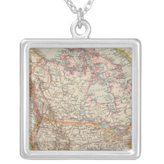 North America 38 Silver Plated Necklace