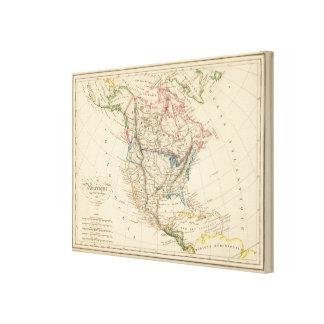 North America 39 Canvas Print