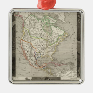 North America 39 Christmas Ornament