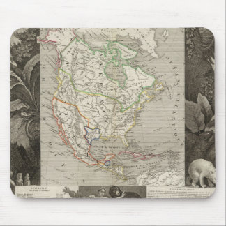 North America 39 Mouse Mat
