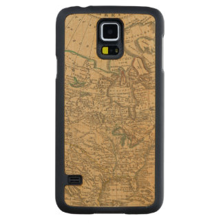 North America 3 Carved Maple Galaxy S5 Case