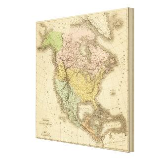 North America 40 Canvas Print