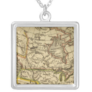 North America 40 Silver Plated Necklace