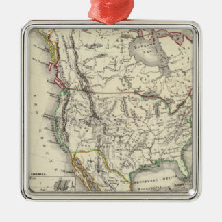 North America 41 Christmas Ornament