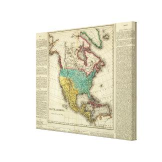 North America 43 Canvas Prints