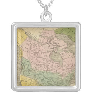 North America 43 Silver Plated Necklace