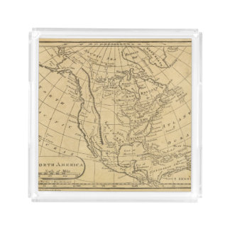 North America 44 Acrylic Tray