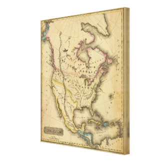 North America 44 Canvas Print
