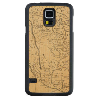 North America 44 Carved Maple Galaxy S5 Case