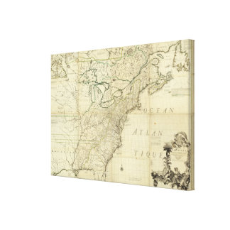 North America 47 Stretched Canvas Prints