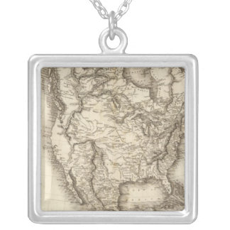 North America 47 Silver Plated Necklace