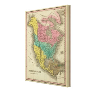 North America 4 Canvas Print
