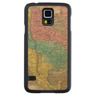 North America 5 Carved Maple Galaxy S5 Case