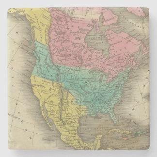 North America 5 Stone Coaster