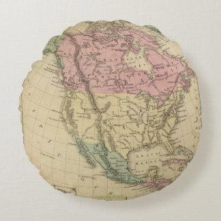 North America 6 Round Cushion