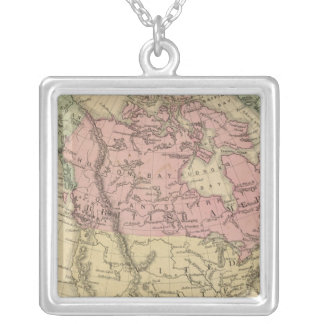 North America 6 Silver Plated Necklace