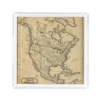 North America 7 Acrylic Tray