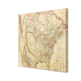 North America 7 Canvas Print