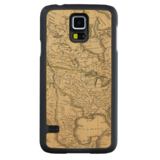 North America 7 Carved Maple Galaxy S5 Case