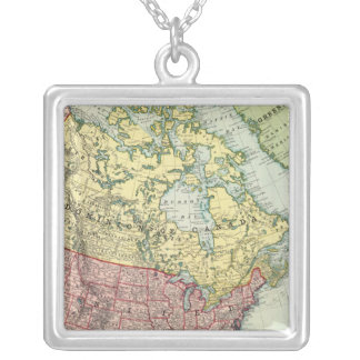 North America 7 Silver Plated Necklace