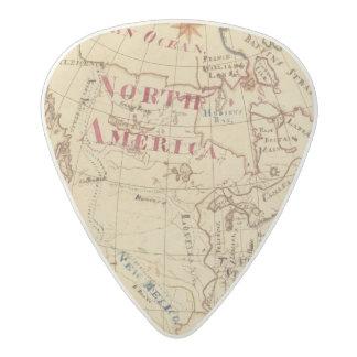 North America 8 Acetal Guitar Pick
