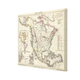 North America 8 Canvas Print