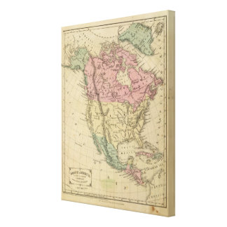 North America 8 Canvas Prints