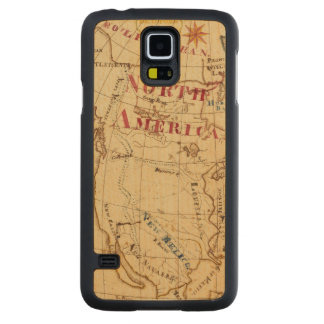North America 8 Carved Maple Galaxy S5 Case