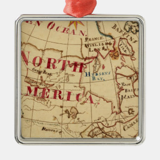 North America 8 Christmas Ornament