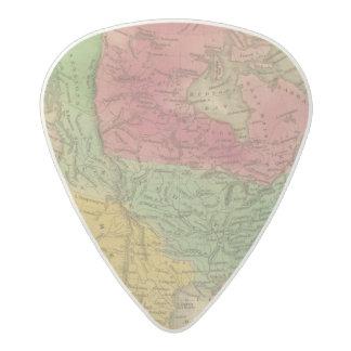North America 9 2 Acetal Guitar Pick