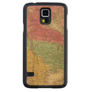 North America 9 2 Carved Maple Galaxy S5 Case