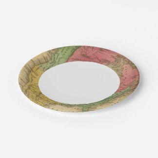 North America 9 2 Paper Plate