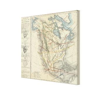 North America 9 Canvas Print
