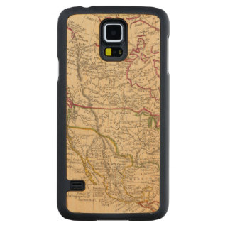 North America 9 Carved Maple Galaxy S5 Case