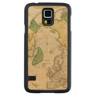 North America, Asia Carved Maple Galaxy S5 Case
