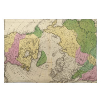 North America, Asia Placemat