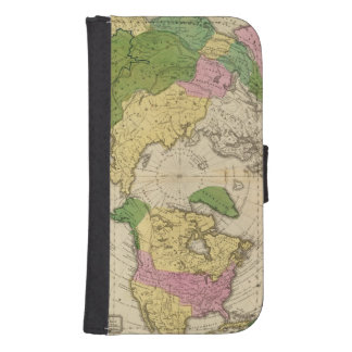 North America, Asia Samsung S4 Wallet Case