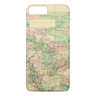 North America Assembly Map iPhone 8 Plus/7 Plus Case
