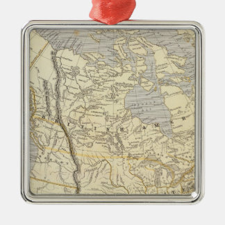 North America Atlas Map 2 Christmas Ornament