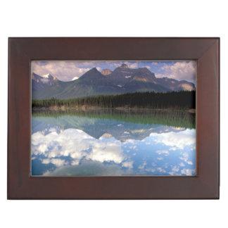 North America, Canada, Alberta, Banff National 2 Keepsake Box