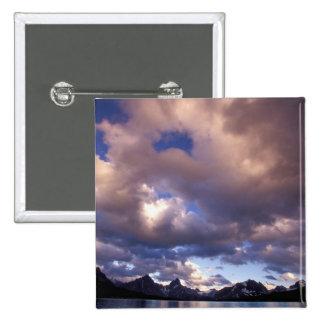 North America, Canada, Alberta, Jasper 5 15 Cm Square Badge